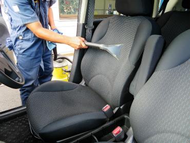 カーストック 車内クリーニング